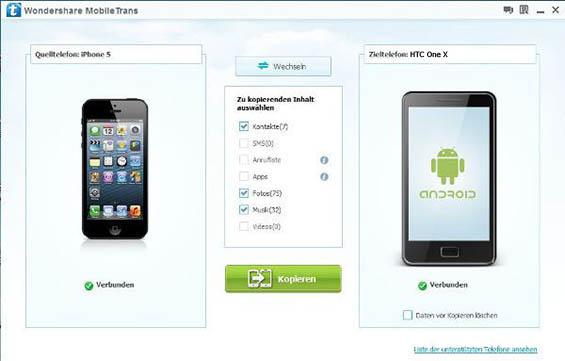 iPhone, iPad oder iPod mithilfe von iTunes auf …